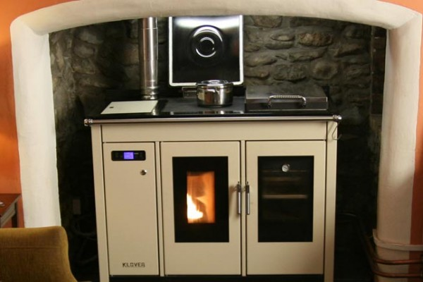 Sustainable and stylish heating and cooking with biomass systems