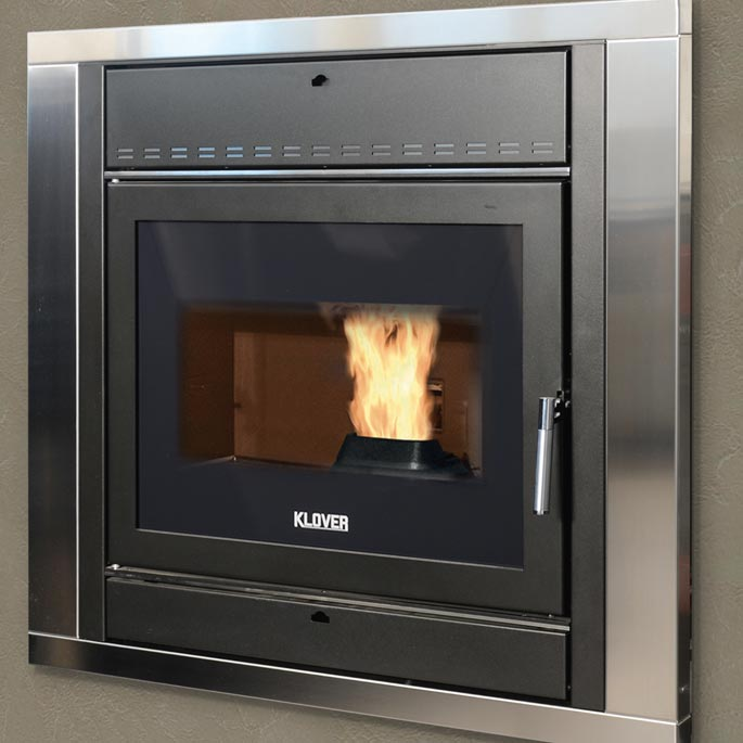 Klover inset stove