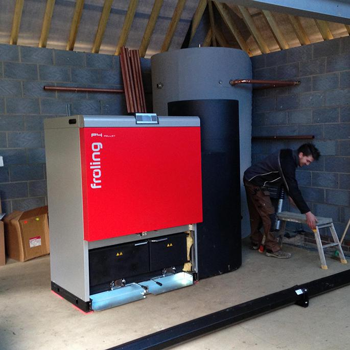 AutoFeed Outbuilding Pellet Boilers