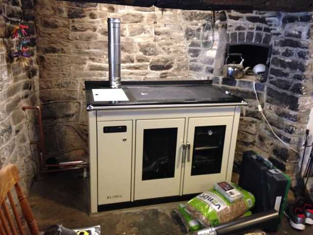 Klover cooker at Knighton