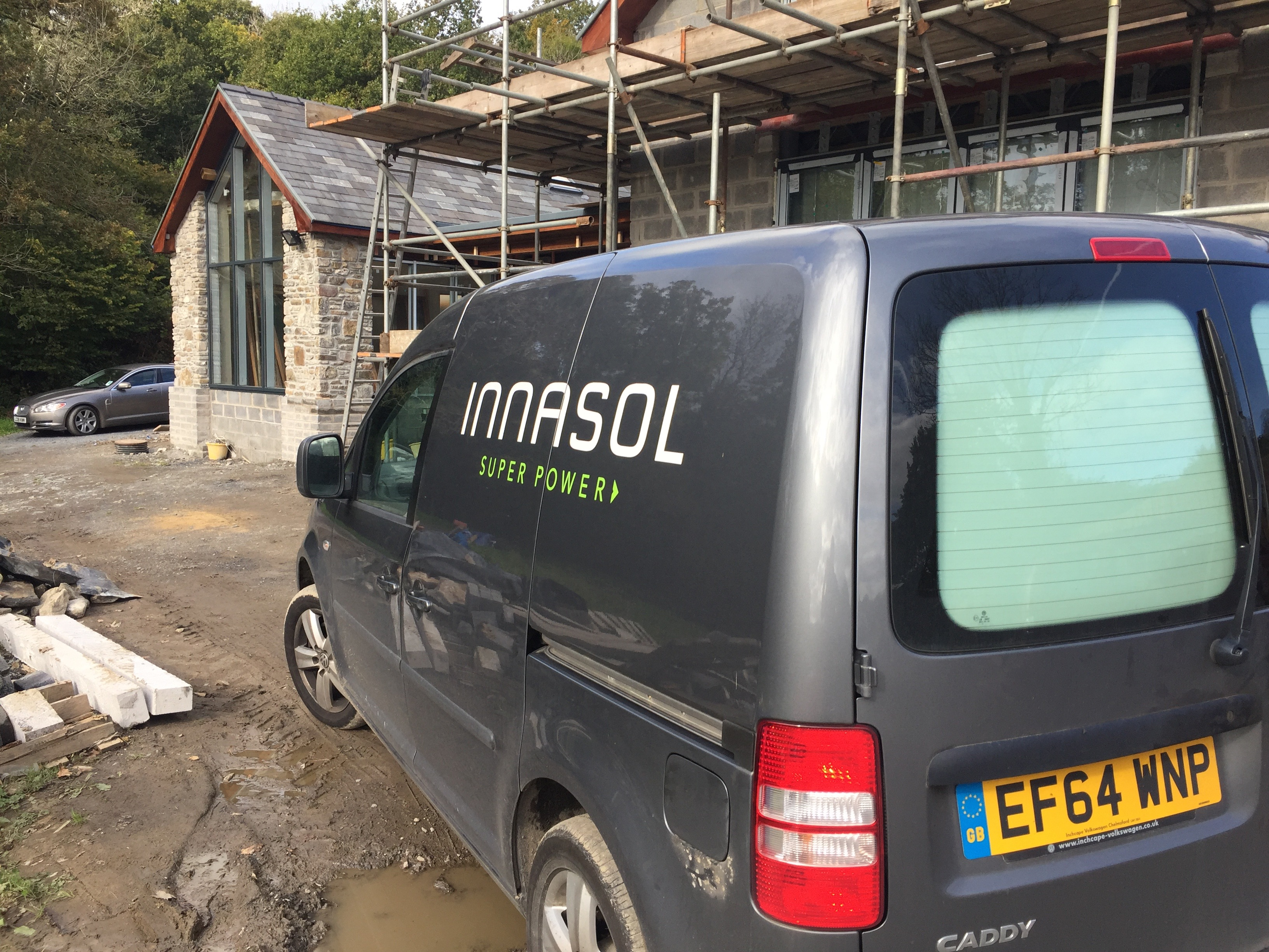 Barn conversion and Ground Source Heat Pump Installation Llanelli