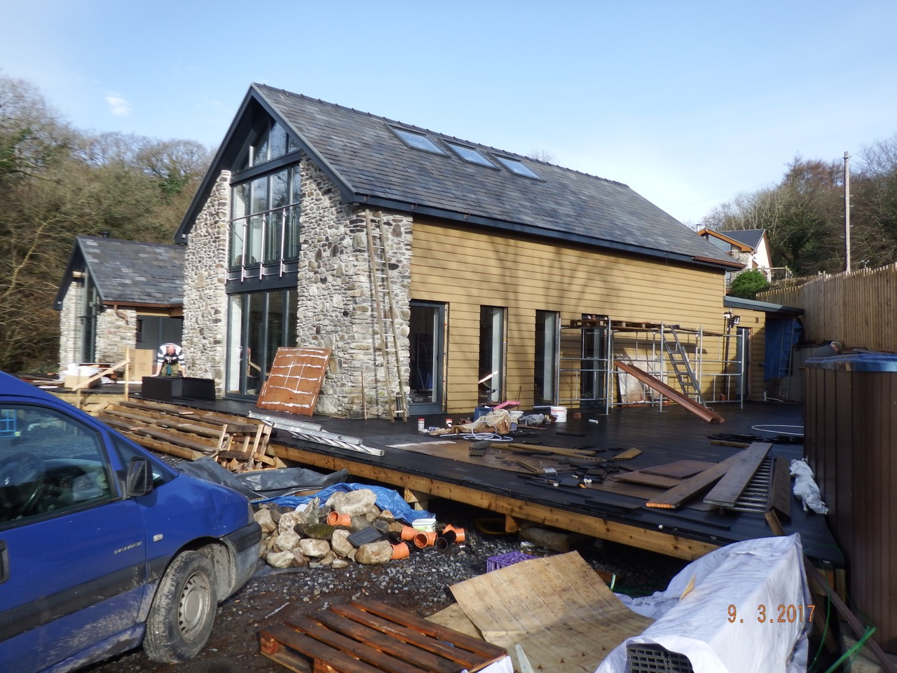 Barn conversion with ground source heat pump 2