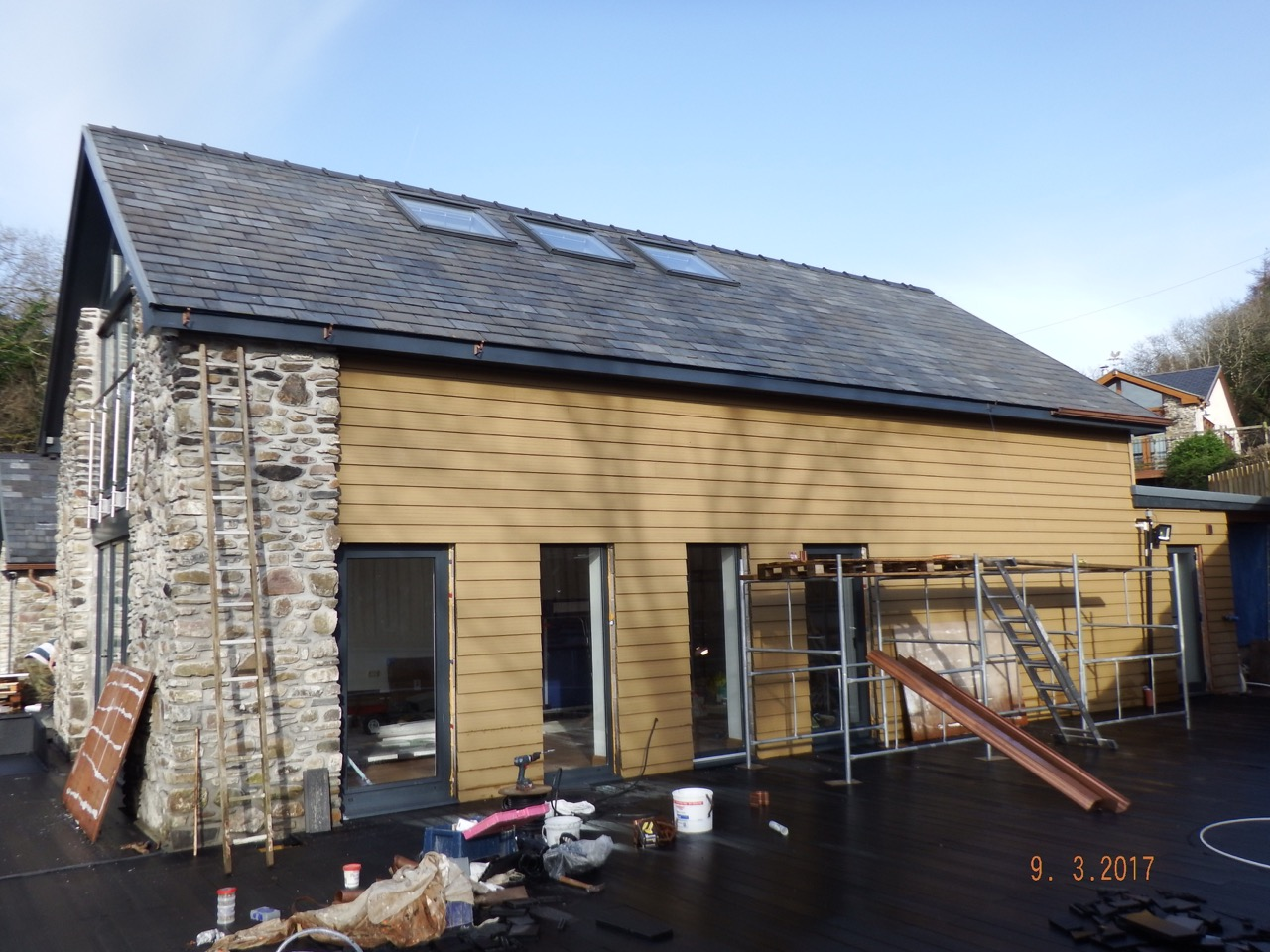 Barn conversion with ground source heat pump 3