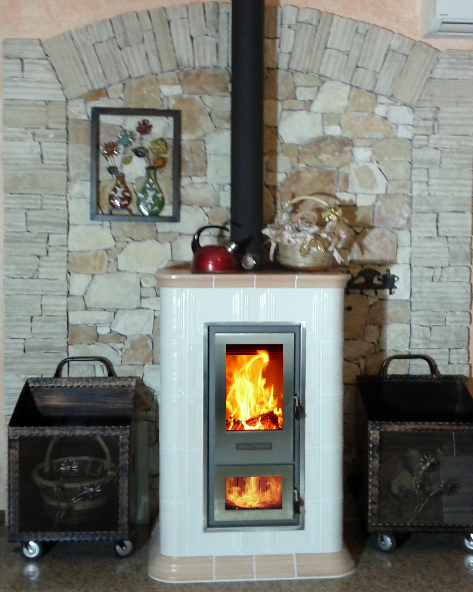 The Walltherm Boiler: Is this the world's most efficient log burner